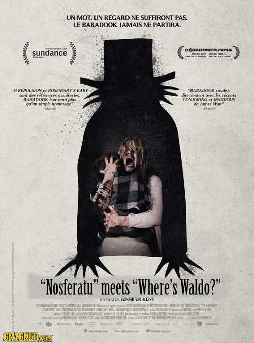 If Horror Movie Posters Were Forced To Be Honest Cracked Com