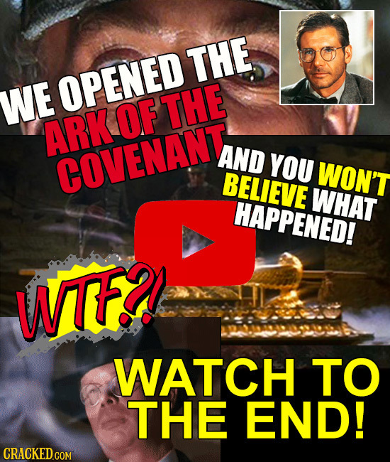 THE WE OPENED OF THE ARK AND COVENANT YOU WON'T BELIEVE WHAT HAPPENED! WTFD WATCH TO THE END!