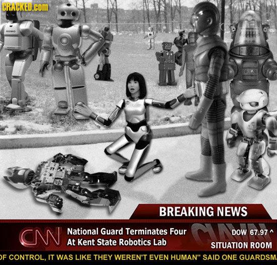 How The Inevitable Human-Robot War Will Start
