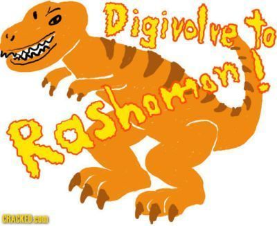 Digivole ve ashoman HRACKED. HO
