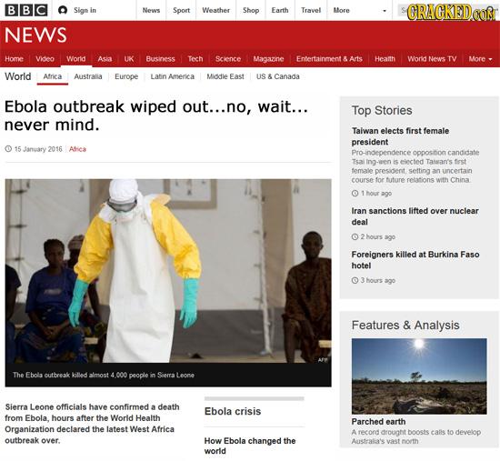 23 'Real' Headlines The Media's Too Afraid To Write- 1/24/16