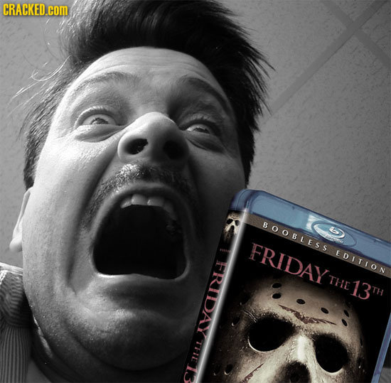 CRACKED.cOM BOOBLESS FRIDAY EDITION FRIDAY THE 13 TH THE