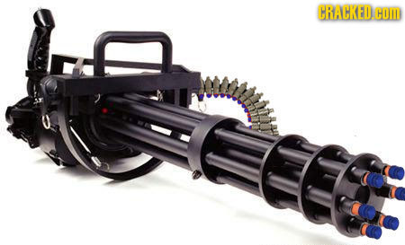 If 5-Year-Olds Were In Charge of Weapon Design