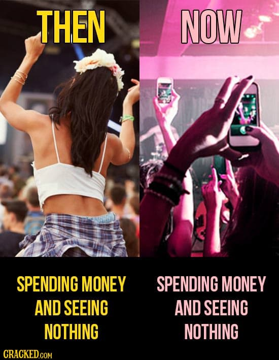 Things We Worry About, And The Insane Ways They've Changed