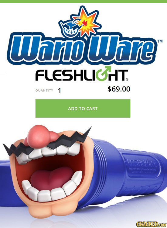 Whnoware TM FLESHLIOT $69.00 QUANTITY 1 ADD TO CART 1fr. Nahs ooies a CRAGKEDCON