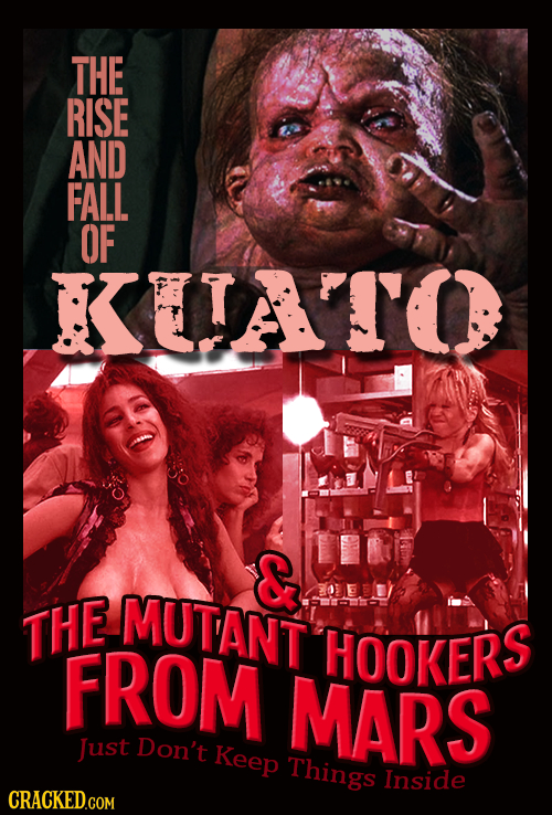 THE RISE AND FALL OF KAATO MUTANT THE FROM HOOKERS MARS Just Don't Keep Things Inside