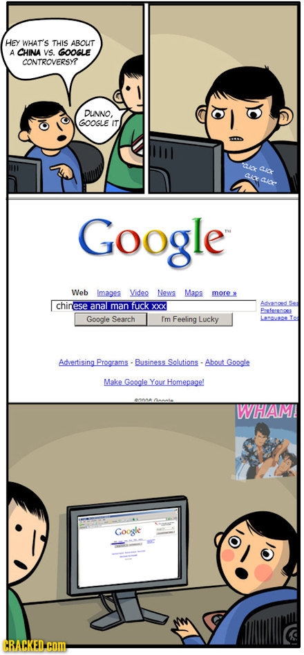 Surfing The Web in China After The Google Conflict [COMIC]