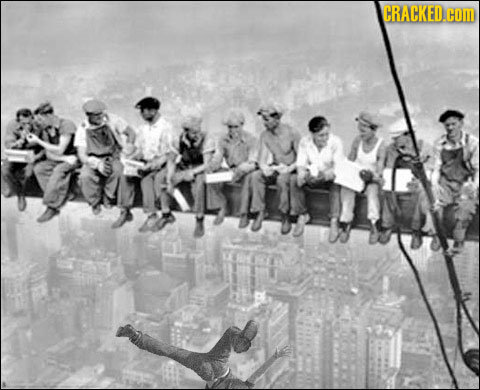 Things You Never Noticed in Famous Pictures
