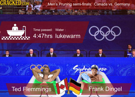 24 Rejected Olympic Events We'd Be Great At