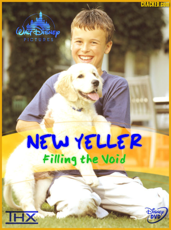 CRACKED.COM WALY Disney PICTURES NEW YELLER Filling the Void THX DisNEY DVD