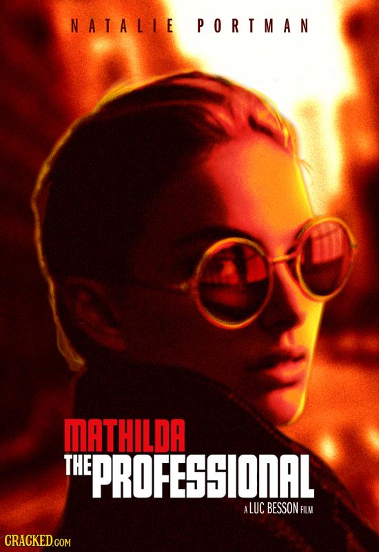 NATALIE PORTMAN MATHILDA THE EPROFESSIONAL A ALUC BESSON FILM