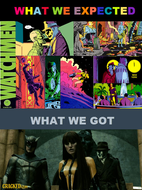 WHAT WE EXPECTED NEW YORK WATCHMEN WHAT WE GOT CRACKEDcom