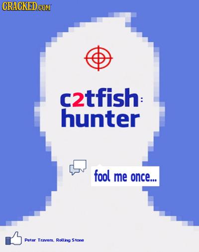 c2tfish: hunter fool me once... Peter Trrvers Rolling Stona