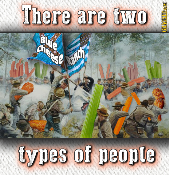 There are two Blue CRAG theese Ranch V types of people