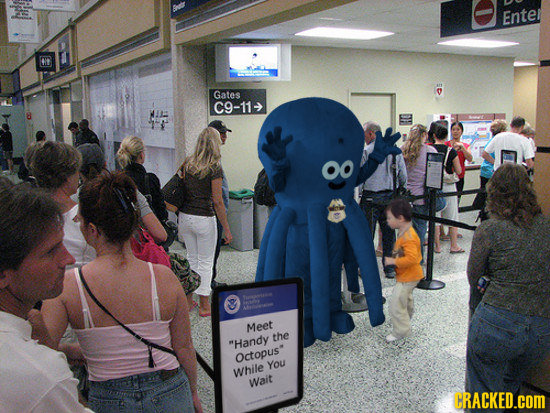 The 16 Most Ill-Conceived Mascots Possible