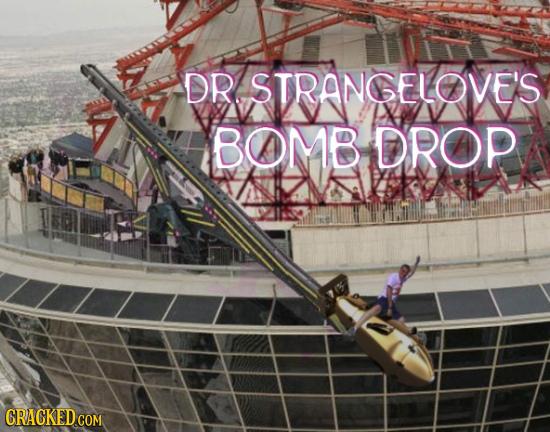 DR STRANGELOOVES BOOMB DROP CRACKED