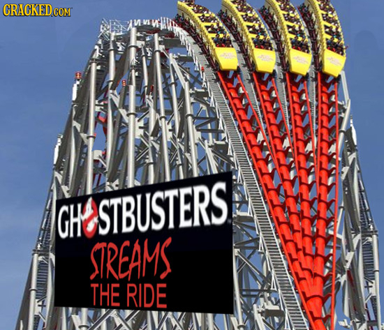 If Every Movie Got An Amusement Park Ride