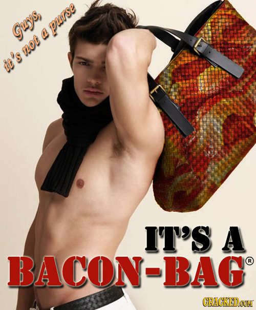 P Guys, a not it 'S IT'S A BACON BAG R CRACKEDCON