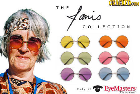 CRACKED THE Famis COLLECTION Only EyeMasters: at Why DAY moe>