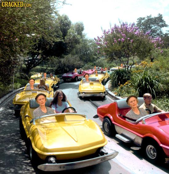 If Every Movie Got An Amusement Park Ride
