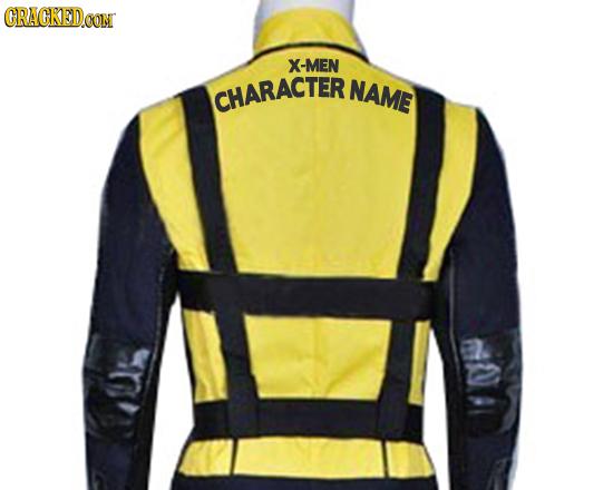 CRACKED.OON X-MEN CHARACTER NAME