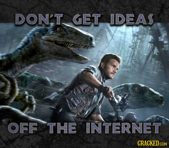 DON'T GET IDEAS OFF THE INTERNET CRACKED COM