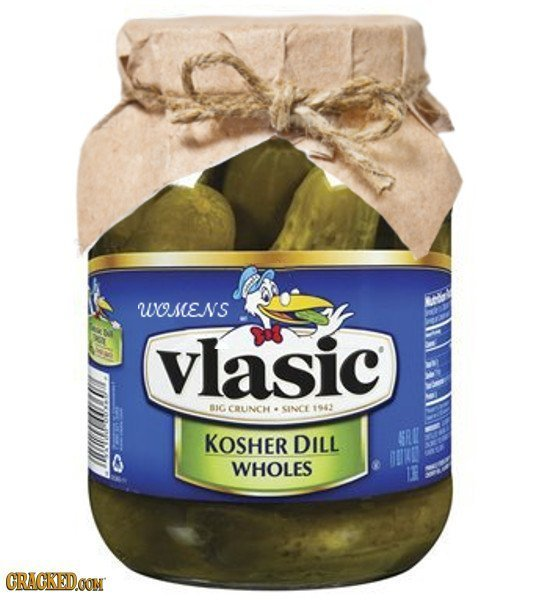 WSENS vlasic BIC CRUNCH SINCE 1942 KOSHER DILL GRR WHOLES GRACKEDOON