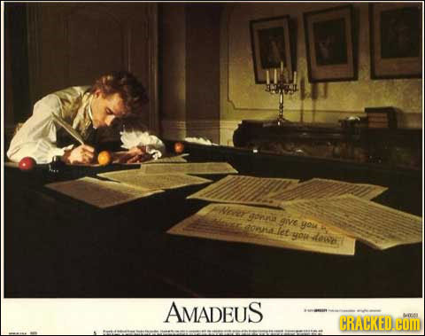 Never onn give tohalet you yor dew AMADEUS CRACKED. WOon