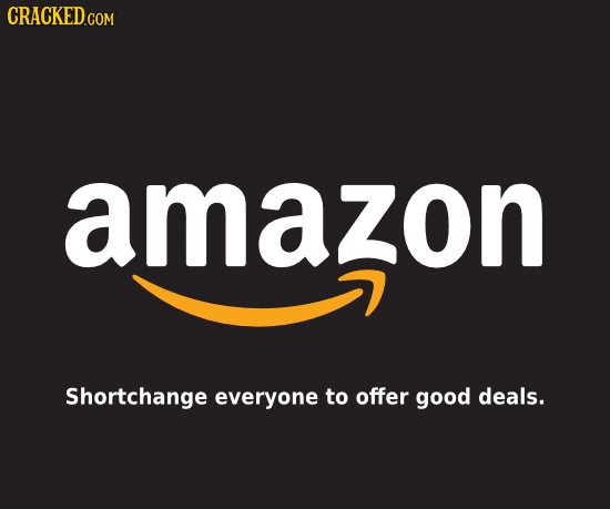 EDS amazon Shortchange everyone to offer good deals.