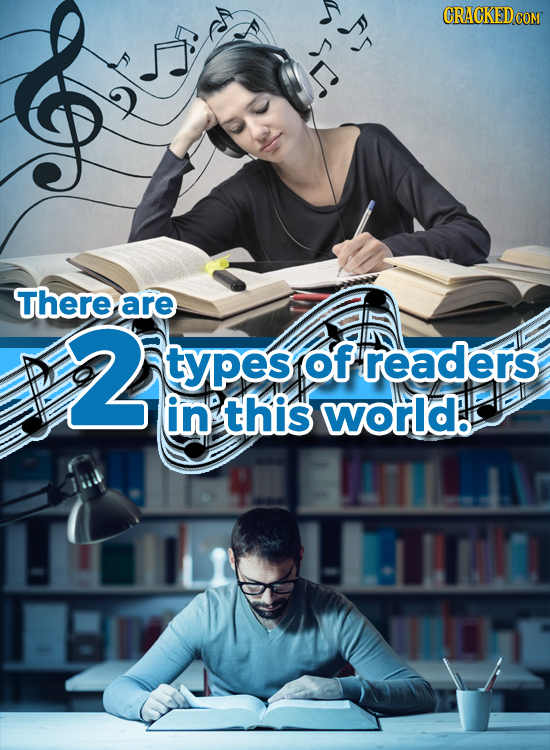 Rs CRACKED There are 2 types of readers in this world.
