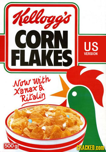 Kellogg's CORN US FLAKES VERSION with Now B Xanax Rilalin 500 g CRACKED.COM
