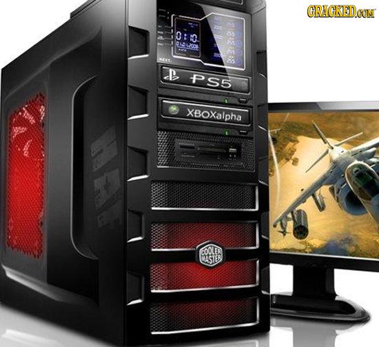 CRACKEDCON 0:o 0LDLZOCB s D PS5 XBOXalpha COOLER MASTER LI