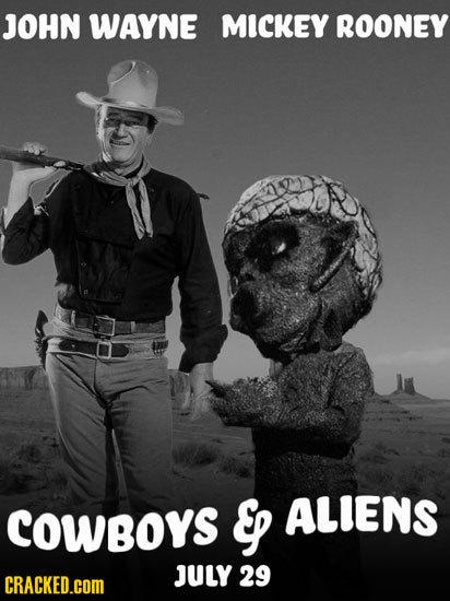 JOHN WAYNE MICKEY ROONEY COwBoys Ep ALIENS JULY 29 CRACKED.cOM
