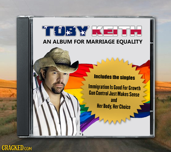 TOY KETH AN ALBUM FOR MARRIAGE EQUALITY Includes the singles Immigration Is Good For Growth Gun Control Just Makes Sense and Her Body, Her Choice CRAC