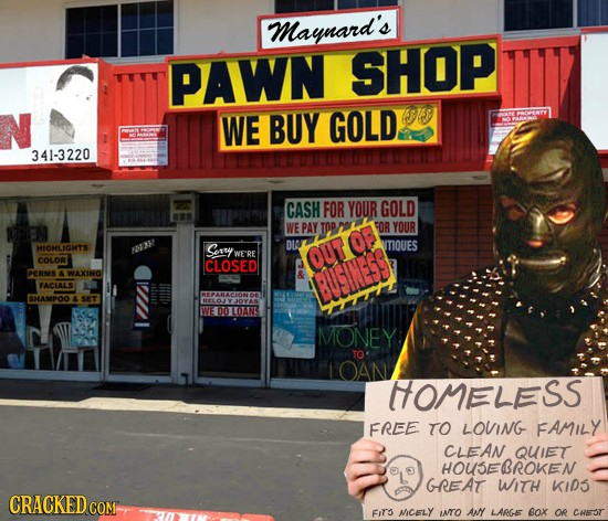 Maynard's PAWN SHOP WE BUY GOLD SJ13 341-3220 CASH FOR YOUR GOLD WE PAY TOP 5OR YOUR DIA HIOHLIGHTS 023 Sory ITIQUES WE RE COLOR CLOSED OUT DERNS WAXI