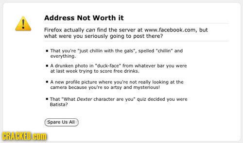 If Error Messages Had a Sense of Humor