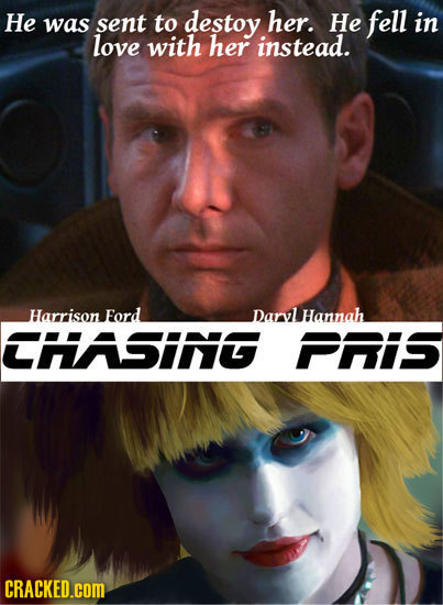 He was sent to destoy her. He fell in love with her instead. Harrison Ford DarylHannah CHASING PHIS CRACKED.cOM