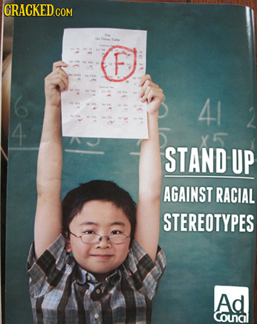 F 41 4 STAND UP AGAINST RACIAL STEREOTYPES Ad Counal