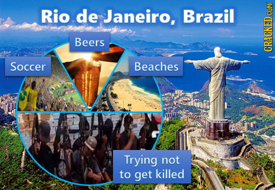 Rio de Janeiro, Brazil mrneasotimivu Beers CRACKED Soccer Beaches Trying not to get killed