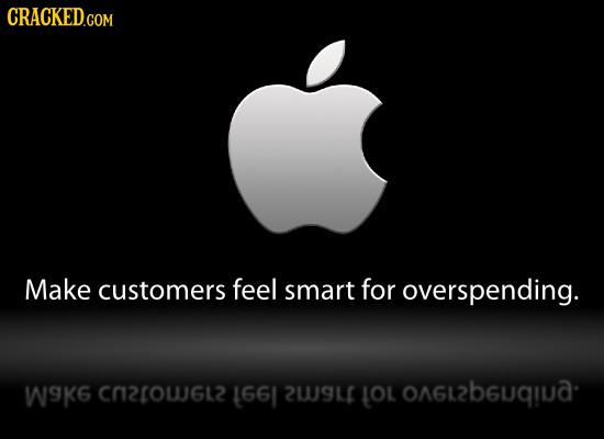 CRACKED.COM Make customers feel smart for overspending. Wk6 C2ow6l 1661 2W9L LOL OAGL2BGUqIA