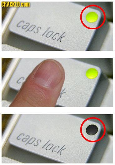 CRACKED.COM caps lock caps lock