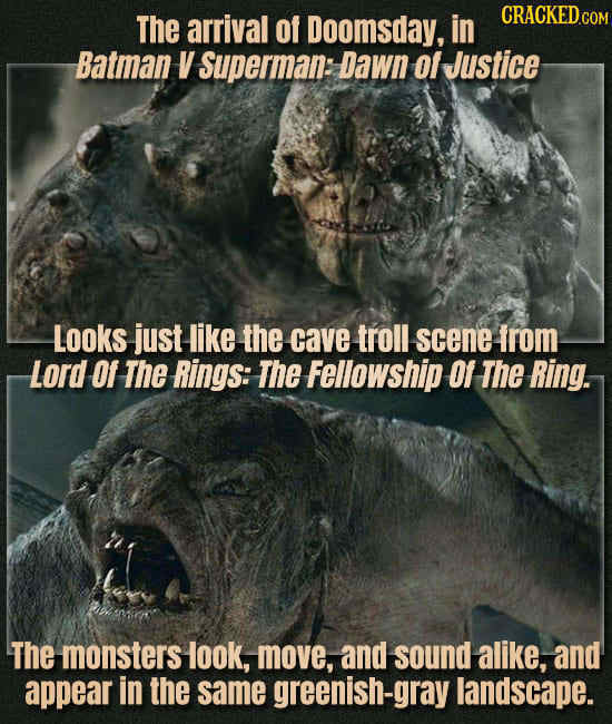 Movies & Shows That Are Identical