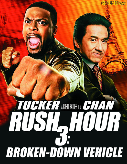 CRACKED COM TUCKER CHAN A BRETTRATINERALN RUSH, RUsho HOUR 3: BROKEN-DOWN VEHICLE
