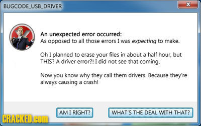 If Error Messages Had a Sense of Humor