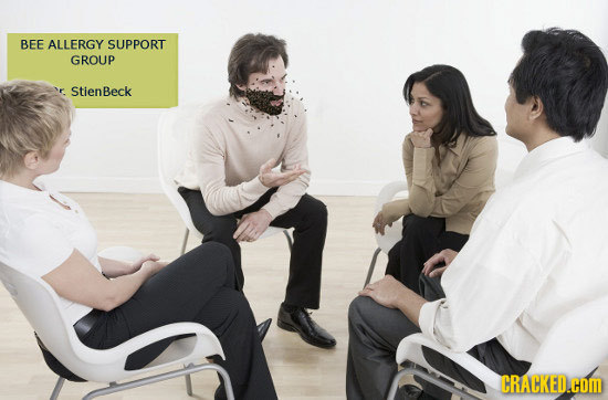 BEE ALLERGY SUPPORT GROUP StienBeck CRACKED.COM