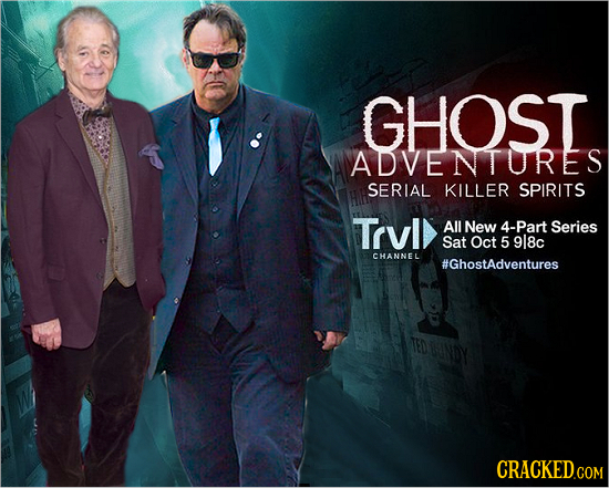 GHOST GHOST ADVENTURES SERIAL KILLER SPIRITS Trvl All New 4-Part Series Sat Oct 5 9l8c CHANNEL #GhostAdventures