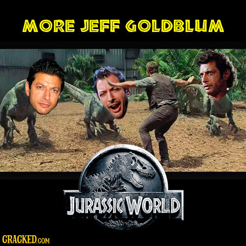MORE JEFF GOLDBLUM JURASSIG WORLD