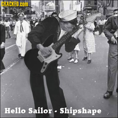 CRACKED.COM Hello Sailor - Shipshape