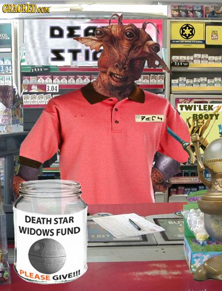 CRACKED.CON DEA OL OYIK TIO 3.04 $899 4AAA 3.04 TWI'LEK BOOTY I A BD DEATH STAR WIDOWS FUND PLEASE GIVE!!!