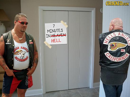 COM 7 MINUTES ANGE INHEAVEA HELL HELLS MC CLFORNIE S